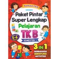 PAKET PINTAR SUPER LENGKAP PELAJARAN TK B SEMESTER 1