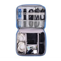 Travel gadget organizer bag tas perlengkapan gadget banyak sekat