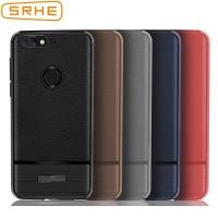 Huawei Y6 Prime 2018 Case Cover 5.7 inch Litchi Carbon Fiber Soft