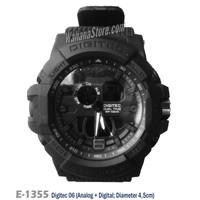 Jam Tangan Digitec Original 06 Dual Time