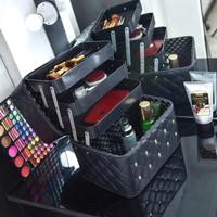 20180 tas kosmetik wanita makeup import kecantikan fashion hitam murah