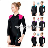 Baju Renang Wanita Tangan Panjang Perempuan Dewasa 012 - L