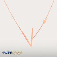 UBS ALPHA BETA GOLD NECKLACE V - KKV13779-1 - 750