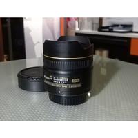 Nikon AF 10.5mm f2.8 G ED DX Fisheye