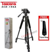 Tripod Takara ECO-196A For kamera Mirroless DSLR Canon Sony Nikon