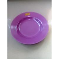 "Piring Makan Dalam 10"" Ungu Angggur Melamine - Golden Unicorn P10-5"
