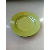 "Piring Makan 9"" Hijau Kiwi Melamine - Golden Unicorn P09-5"