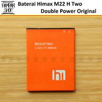 Baterai Himax M22 H Two Htwo Double Power Original Batre Batrai Ori