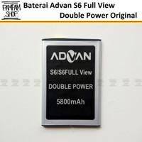 Baterai Advan S6 Full View Double Power Original OEM Batrai Batre Ori