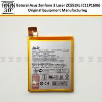 Baterai Asus Zenfone 3 Laser ZC551KL C11P1606 Original OEM Batre Ori