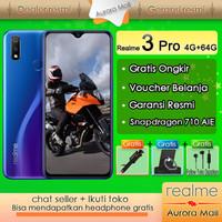 Realme 3 Pro hp 4G+64G - Gratis Ongkir,Snapdragon 710AIE,Garansi resmi