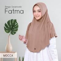 Grosir Jilbab Langsung / Hijab Instan Terbaru FATMA Swarovsky Elegan