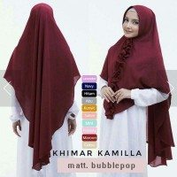 Murah Hijab / Jilbab Instan Khimar Kamilla Elegan
