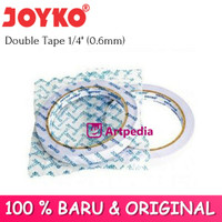 Joyko Double Tape 1/4 inchi (6mm) - Double Tape Joyko