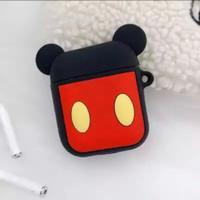 Cartoon Disney Apple Airpods Case Soft TPU Mickey Minnie Brown Cony