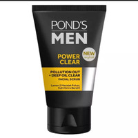 POND'S MEN FACE SCRUB POWER CLEAR