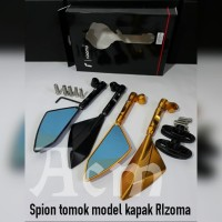 Spion tomok model kapak RIzoma Full cnc mirror universal