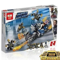Avengers End Game Motor Captain America Super Hero Marvel 07119