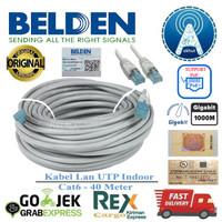 Belden Kabel Lan 40Meter Cat6 40M UTP 1GBps ORI USA Grade Premium