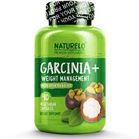 NATURELO Garcinia Cambogia Weight Loss Management - 100% Natural