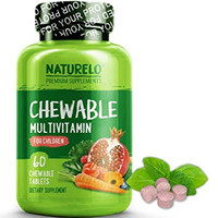 NATURELO Chewable Multivitamin for Children - with Natural Vitamins