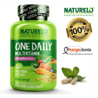 NATURELO One Daily Multivitamin for Women - Best for Hair, Skin, Nails
