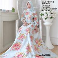 Maxi Resti 3 Tosca Baju Muslim Wanita Gamis Model Kekinian Terbaru