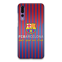 Indocustomcase FC Barcelona Logo 10 Hard Case Cover For Huawei P20 Pro