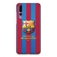 Indocustomcase FC Barcelona Logo 06 Hard Case Cover For Huawei P20 Pro