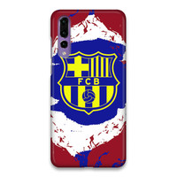 Indocustomcase FC Barcelona Logo 14 Hard Case Cover For Huawei P20 Pro