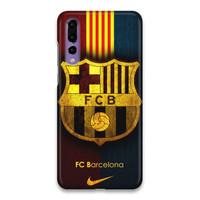 Indocustomcase FC Barcelona Logo 11 Hard Case Cover For Huawei P20 Pro