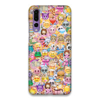 Indocustomcase Emoticon Hard Case Cover For Huawei P20 Pro