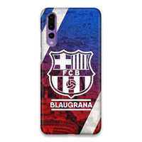 Indocustomcase FC Barcelona Logo 05 Hard Case Cover For Huawei P20 Pro