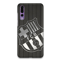 Indocustomcase FC Barcelona Logo 13 Hard Case Cover For Huawei P20 Pro