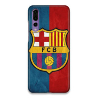 Indocustomcase FC Barcelona Logo 09 Hard Case Cover For Huawei P20 Pro