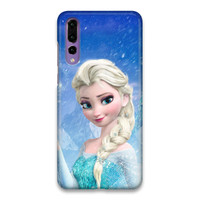 Indocustomcase Elsa Frozen Hard Case Cover For Huawei P20 Pro