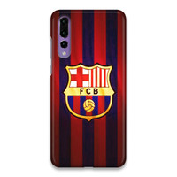 Indocustomcase FC Barcelona Logo 07 Hard Case Cover For Huawei P20 Pro