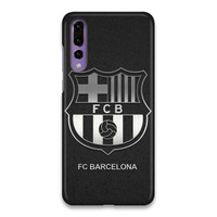 Indocustomcase FC Barcelona Logo 03 Hard Case Cover For Huawei P20 Pro