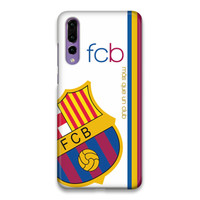 Indocustomcase FC Barcelona Logo 01 Hard Case Cover For Huawei P20 Pro