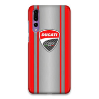 Indocustomcase Ducati Corse Logo 03 Hard Case Cover For Huawei P20 Pro