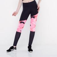 CoreNation Active Trishades Legging - Black Pink