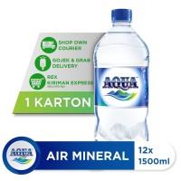AQUA Air Mineral 1500ml (12 botol)
