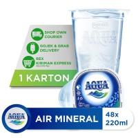 AQUA Air Mineral 220ml (48 cup)