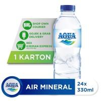 AQUA Air Mineral 330ml (24 botol)