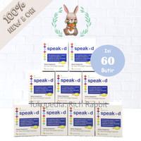 Speak +d Lifetrients 70 caps Omega 3 Suplemen Anak Speech Delay