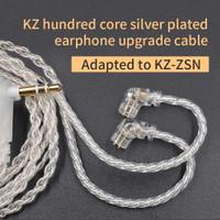 Knowledge Zenith Original KZ ZSN / ZSN PRO Kabel Silver Upgrade 0.75mm
