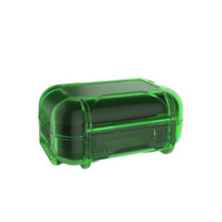 Knowledge Zenith ABS Resin Storage Box Portable Headset - Green
