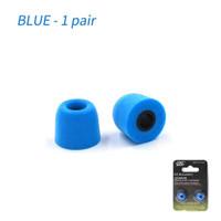 Knowledge Zenith KZ-DAT Memory Foam Eartips 1 Size - Blue
