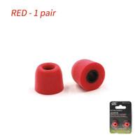 Knowledge Zenith KZ-DAT Memory Foam Eartips 1 Size - Red