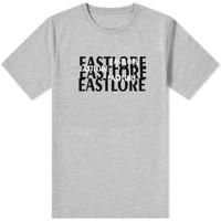 EASTLORE Men Grey Graphic Tshirt BIGSIZE - Kaos Distro JUMBO SIZE